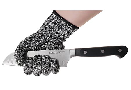 8. TYH Supplies Cut Resistant Safety Gloves