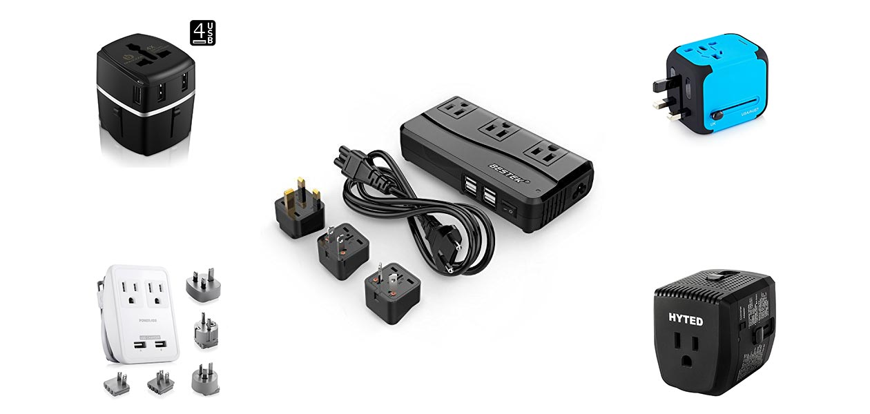 8 Best Travel Power Adapter With USB And Voltage Converter in 2018