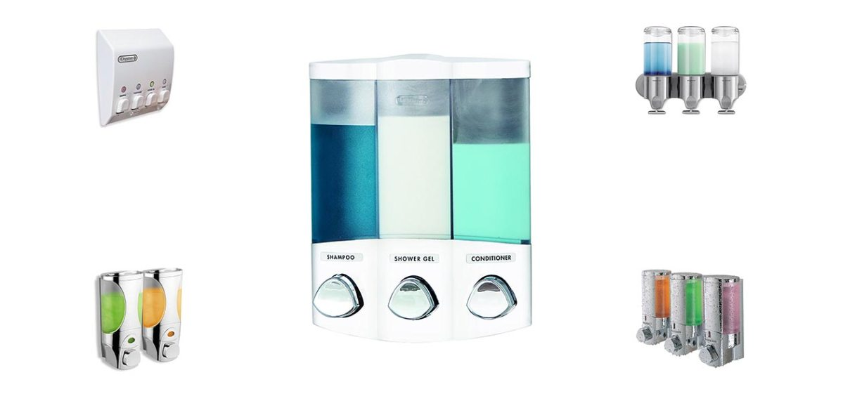 Best Soap Dispensers For Shower Reviews in 2019