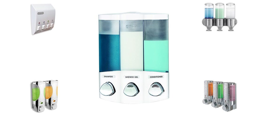 The Best Soap Dispensers For Shower Reviewed Of 2019