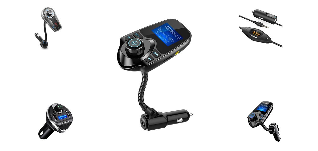 Best Wireless Bluetooth FM Transmitters In-Car Adapter Kits