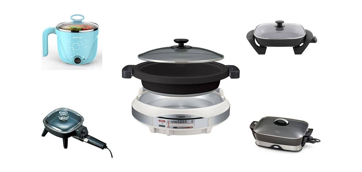 762cbb7e2320 Amazoncom 1L Liven Electric Hot Pot with 304 Stainless Steel