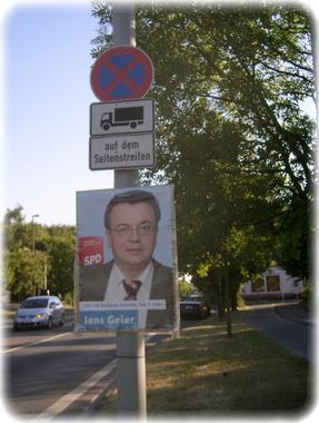 Robert Basic alias Jens Geier, SPD-Kandidat für die Europawahl 2009?