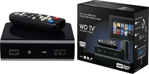 WD TV HD Media Player [c] WesternDigital.com