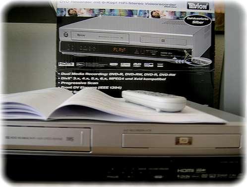MD81644 DVD- und VHS-Video-Recorder von Aldi-Süd