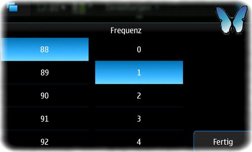 N900 UKW-Frequenz