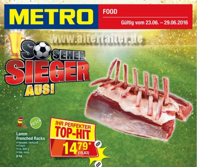 Metro: So sehen Sieger aus!