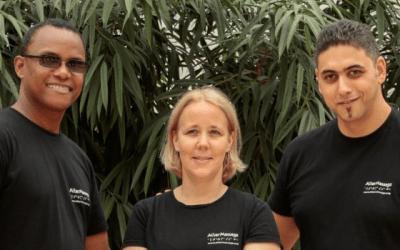 AlterMassage, une entreprise active pour l'emploi et la formation des personnes déficientes visuelles