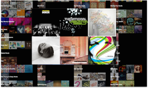 Stereo iTunes Music Player - detailed album art
