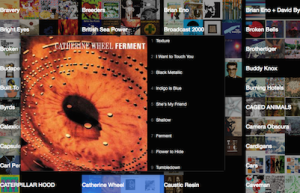 Stereo iTunes music player app