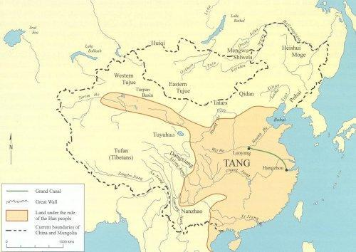 Map Middle China Ages