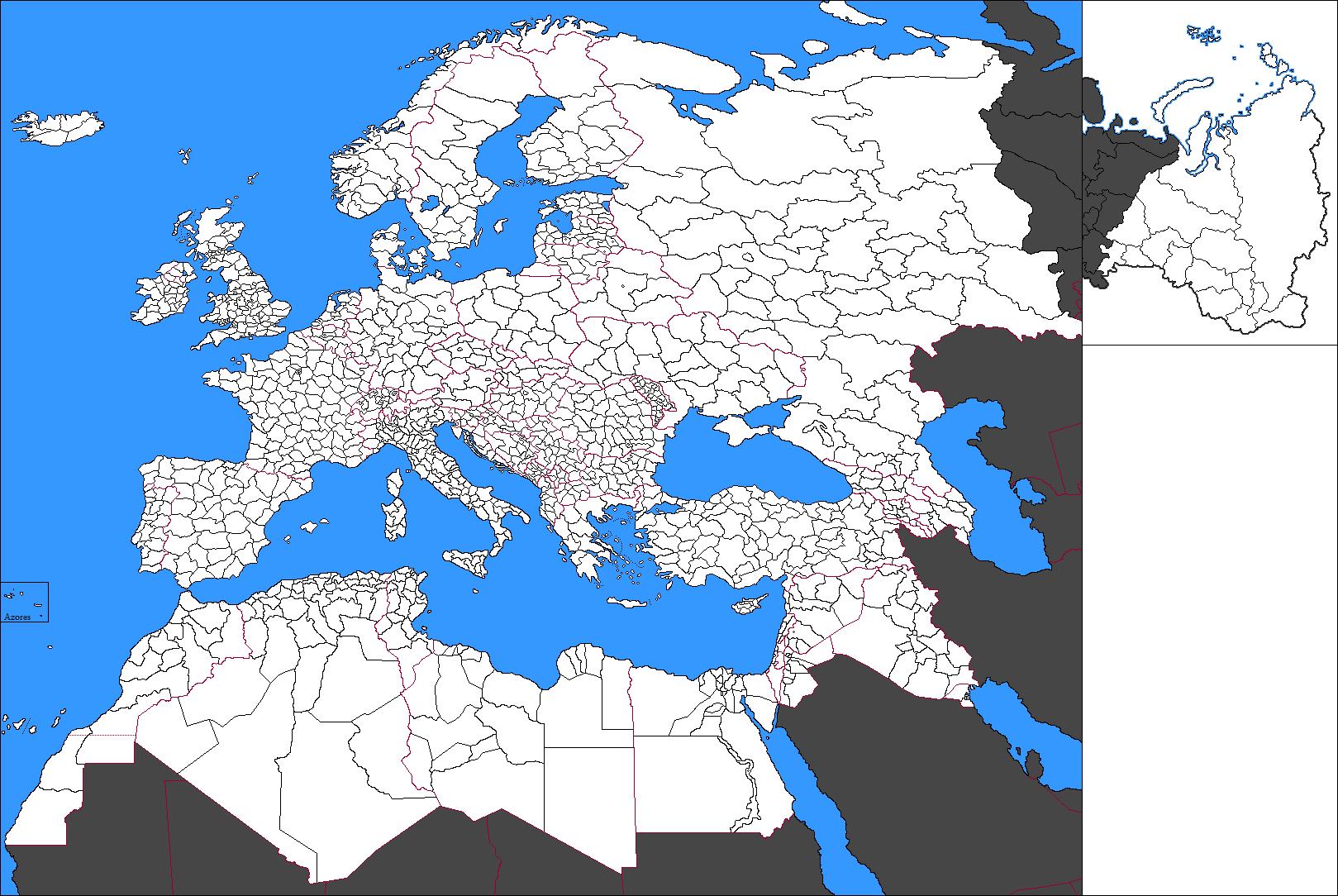 World Map Alternate History
