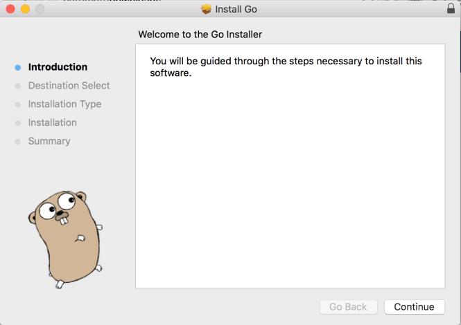 go installer download