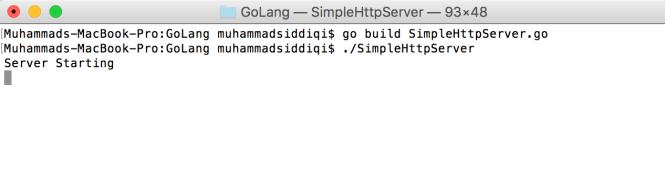 Simple Http Server