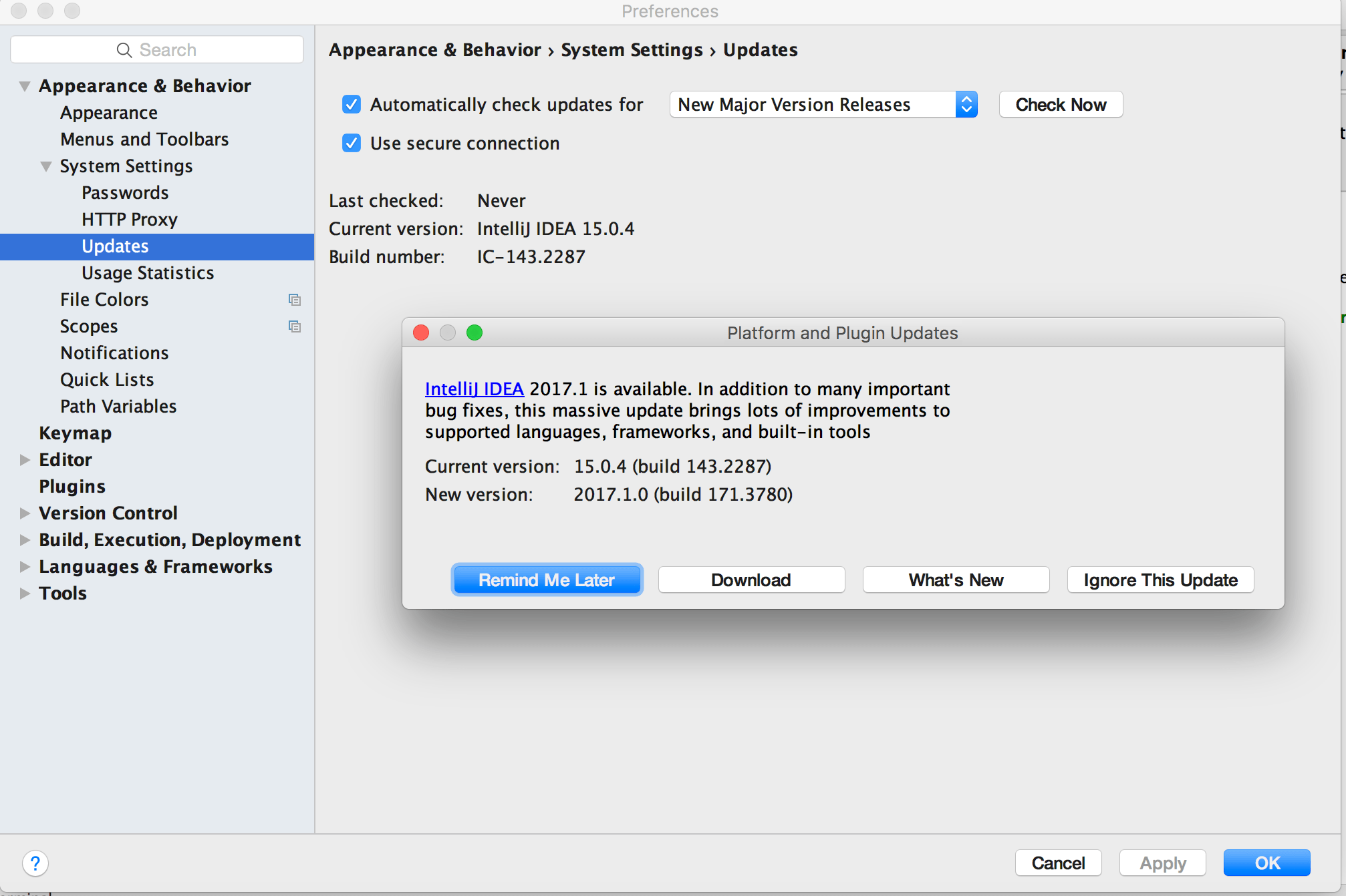 SBT 1 0 and IntelliJ IDEA Scala plugin – needs update – Alternate Stack