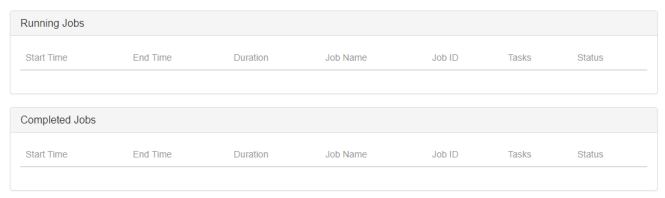 flink job details empty