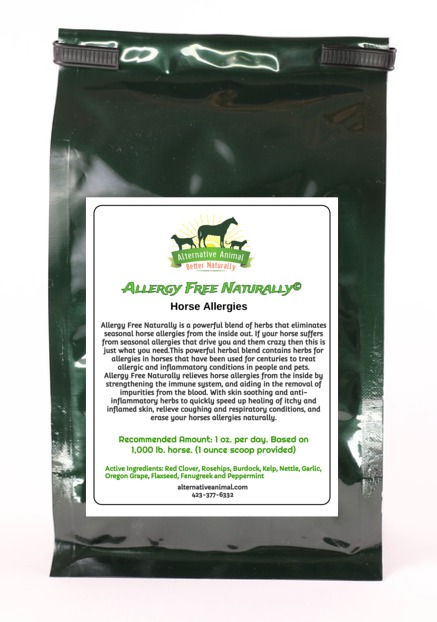 Allergy Free Naturally for Horses
