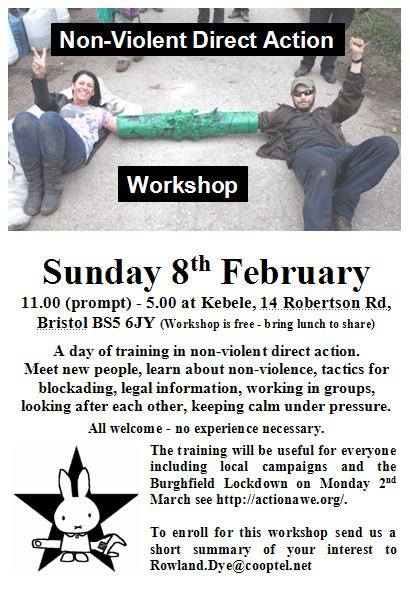 Non-Violent Direct Action Workshop