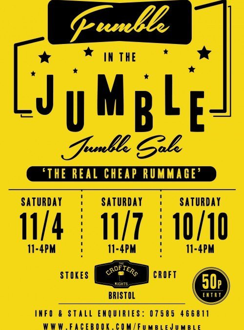 FuMBLe in the JuMBLe- 'The Real Cheap Rummage'.