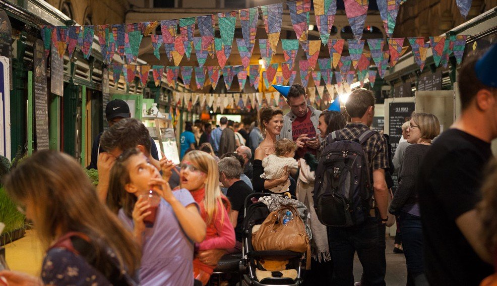 Night Market - Food Connections & Bristol Pound