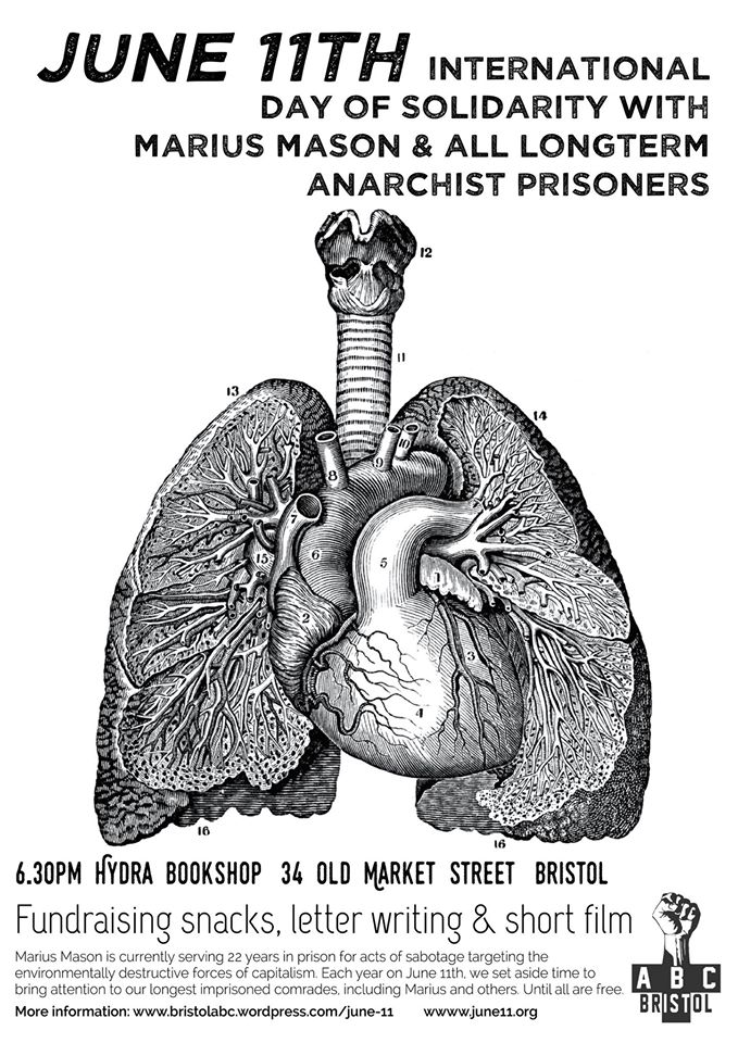 BRISTOL ABC: INTERNATIONAL DAY OF SOLIDARITY WITH LONG-TERM ANARCHIST PRISONERS