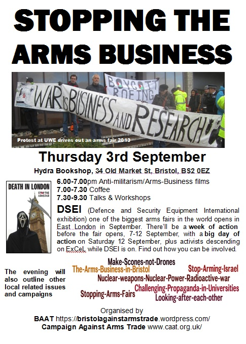 STOPPING THE ARMS BUSINESS
