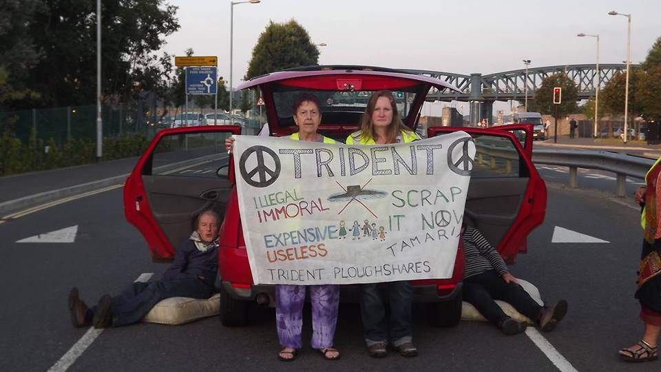 Transport to Plymouth to support the TRIDENT TWO
