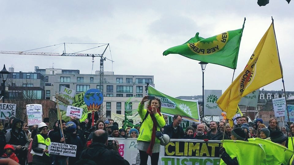 Climate March Helpers Catch-up