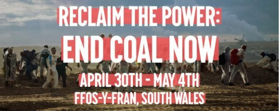 End Coal Now Camp, Reclaim the Power