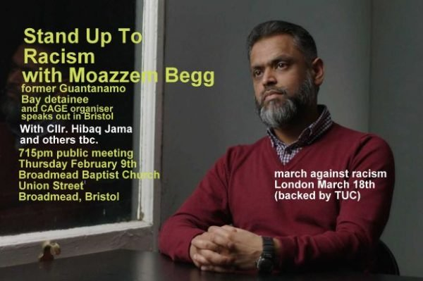 Stand Up To Racism with Moazzem Begg