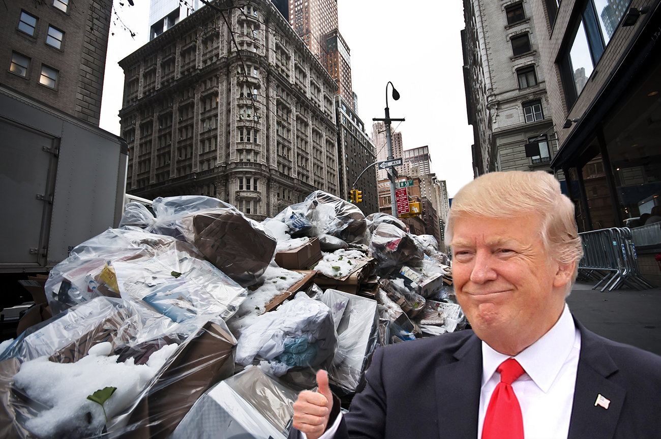 A New York City Petition To Rename Landfill After Donald Trump Has