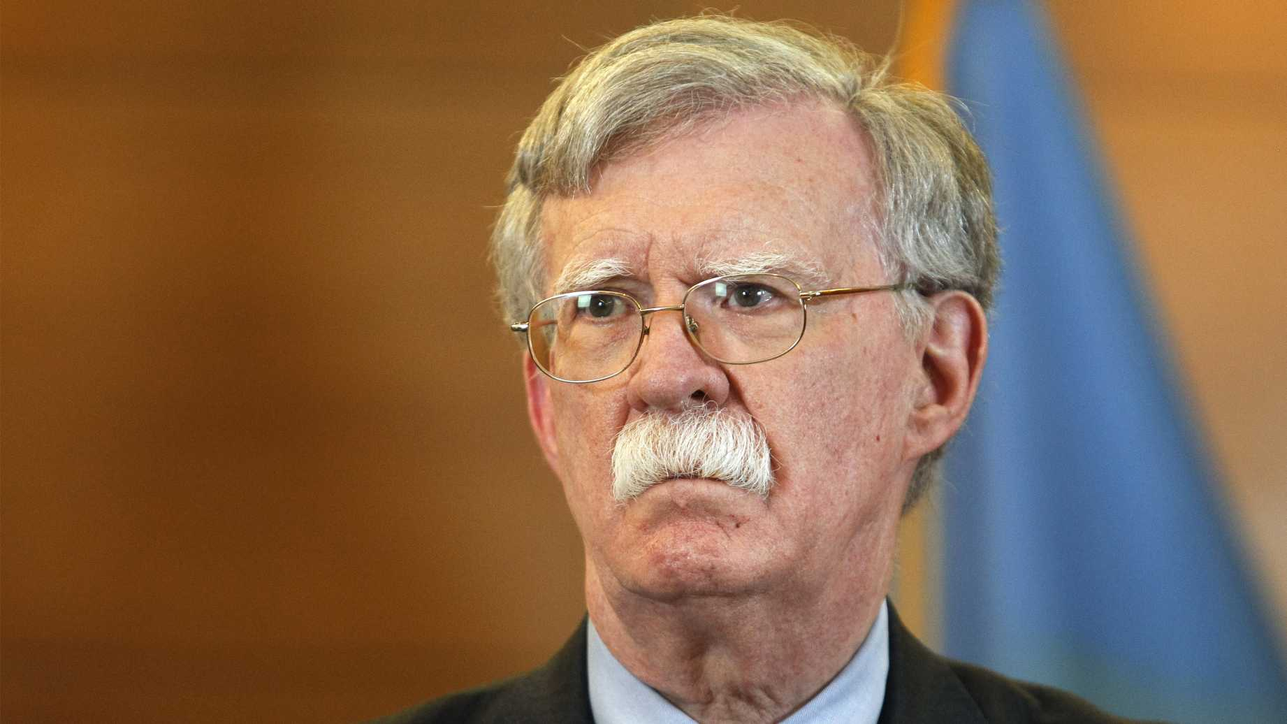 Bolton Agrees to Give House Democrats Audible Version of His New Book