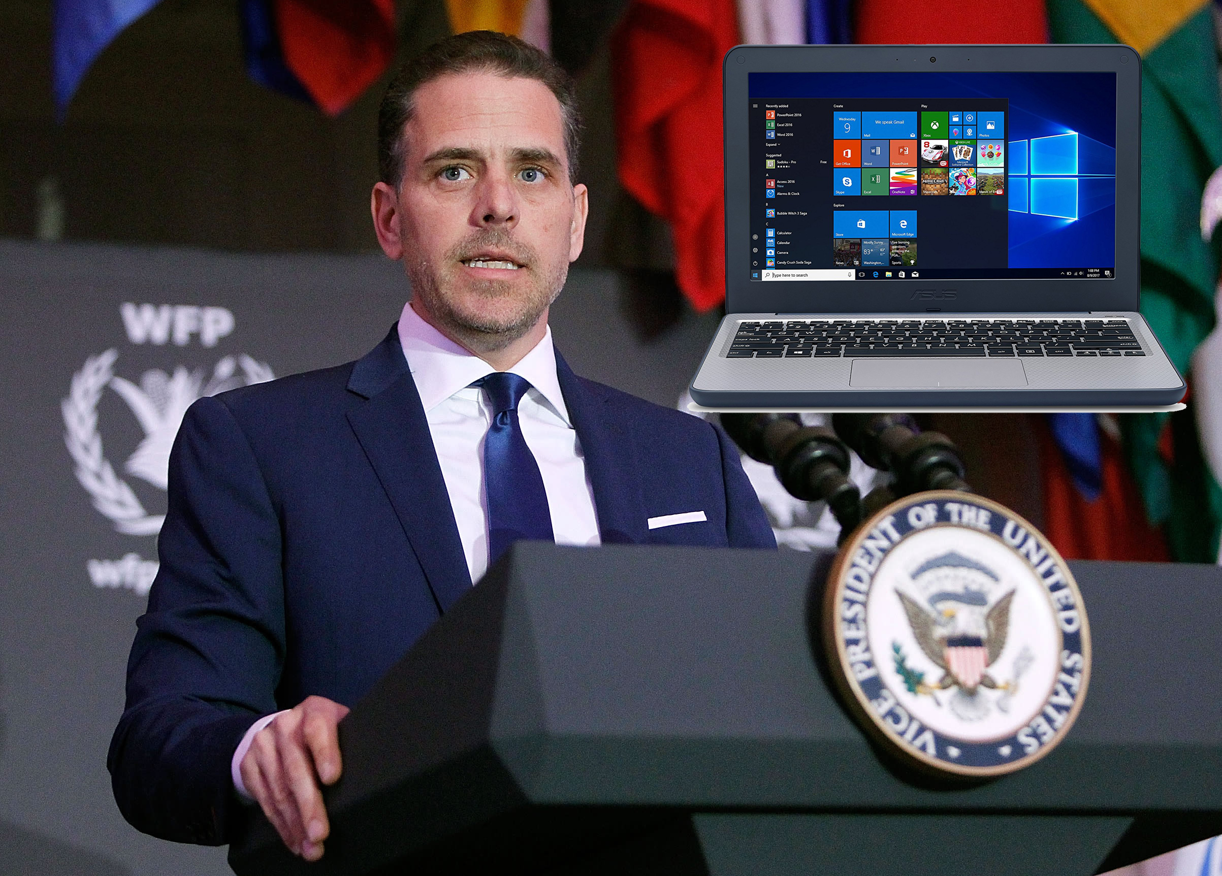 Man Regrets His Early Vote for Hunter Biden's Laptop