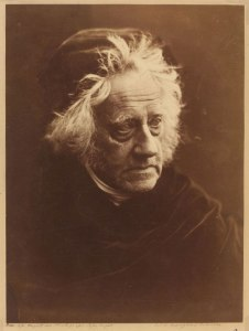 J.F.W. Herschel taken by Julia Margaret Cameron