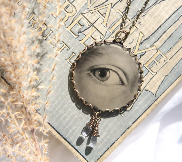 Angie Brockey jewellery eye