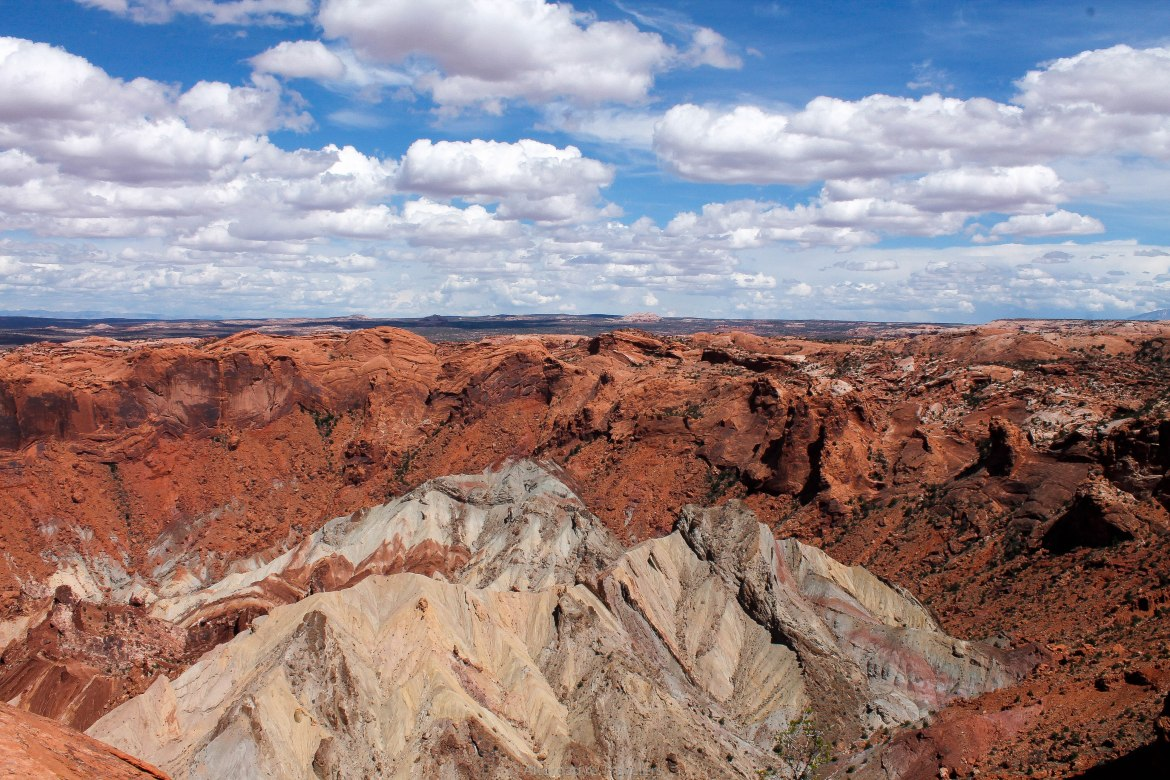 Canyonlands Island in the Sky Hikes - Upheaval Dome