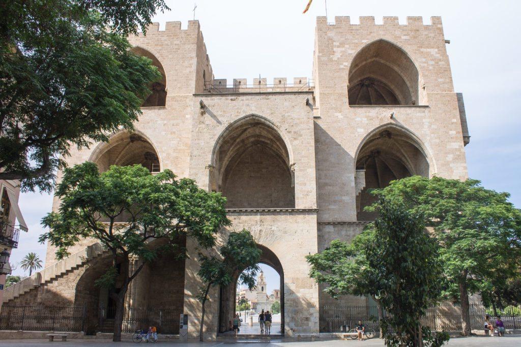 Castle Walls in Valencia