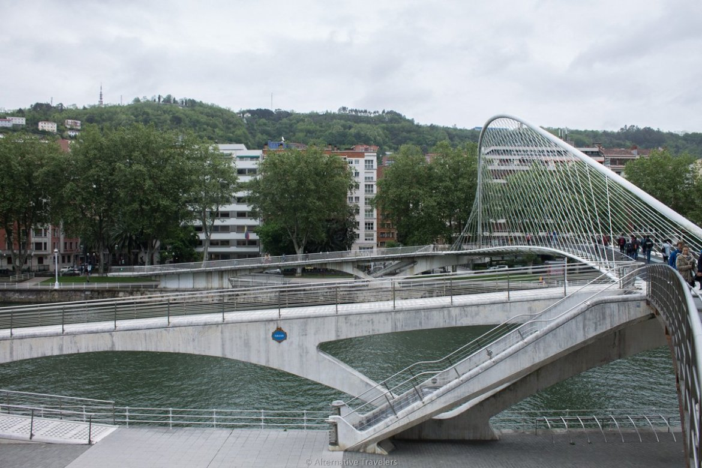 Bilbao river, Bilbao, Spain