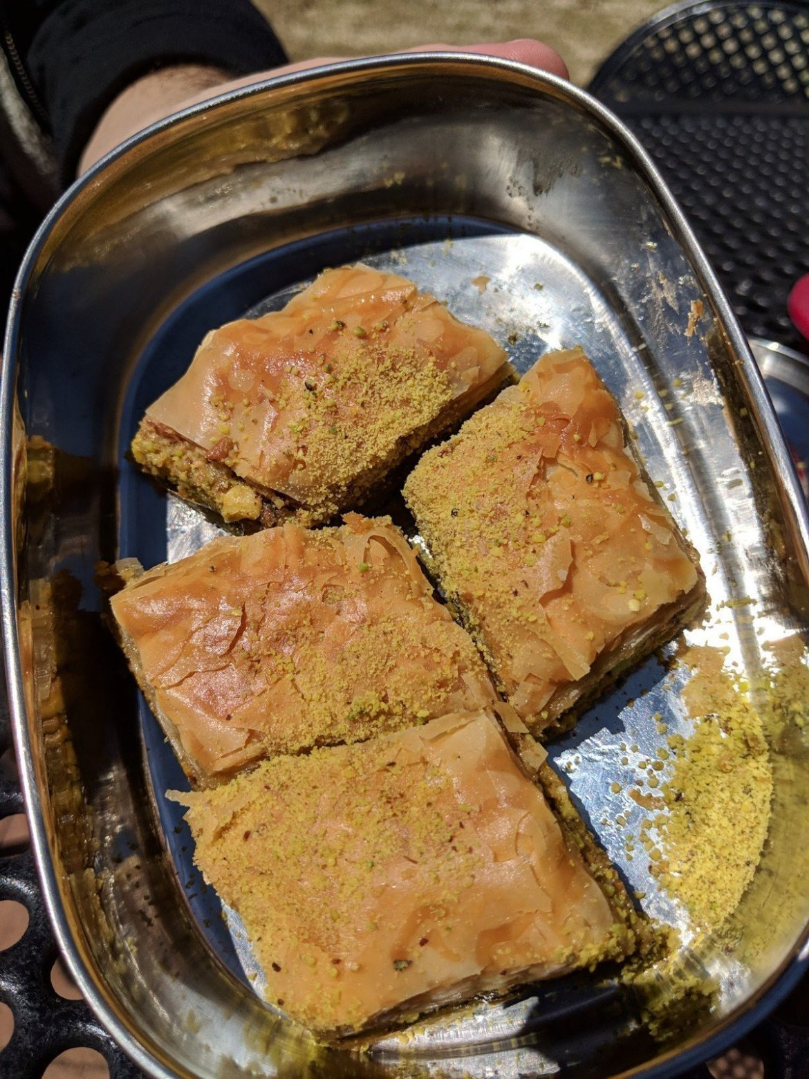 vegan baklava from Jerusalem Market
