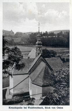 Rückansicht der Kreuzkapelle