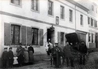 1908 - Letzte Postkutsche