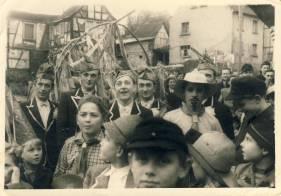 Von links: der Järadse Kall (Karl Gerhards), Dietze Julius , Hardts Hein und Hopps Franz