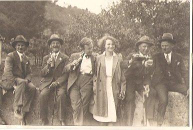 Ausflug zur Nescher mühle (1932)