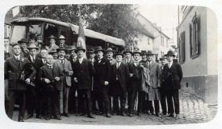Cäcilienfest in Großmaischeid (1925)