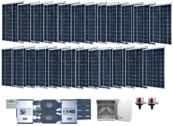 Off Grid 7kW Residential Solar Power System | altE
