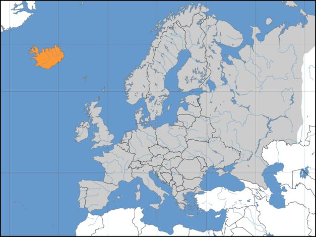 europe islande