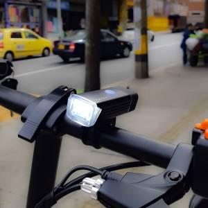 linterna bicicleta recargable usb