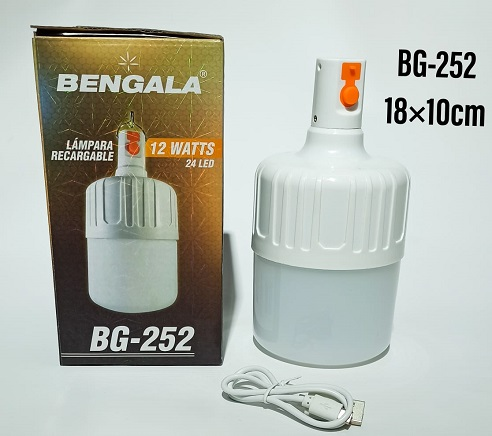 BG252-lámpara-bengala-recargable-12-watts