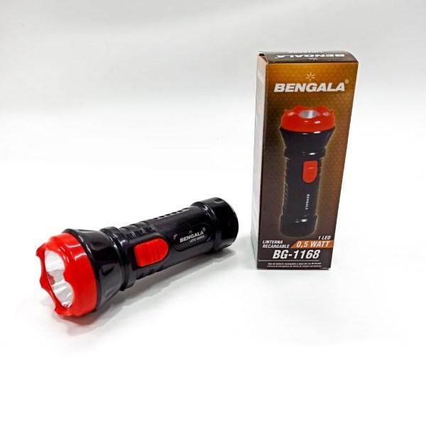 www.altino.com.co BG1168 Linterna Bengala recargable borde rojo 0.5 watts