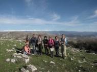 Club de randonnée 06, Altiplus; 27 novembre 2016 : le Pic de Courmettes et le Puy de Tourrettes, au Pic de Courmettes